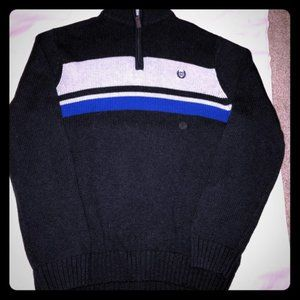 NWT Chaps Quarter Zip Pullover Sweater